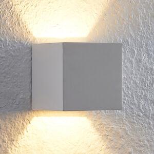 Lindby Lindby Quaso LED nástěnné světlo z bílé sádry