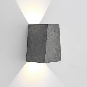 Lucande Lucande Aksel LED nástěnné světlo, břidlice