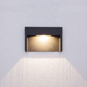 Lucande 3W LED vestavné nástěnné svítidlo Mitja, IP65