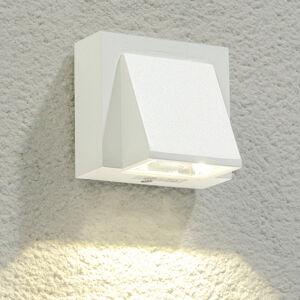 Lucande Bílé LED venkovní nástěnné osvětlení Marik