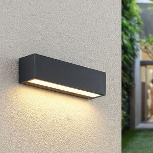 Lucande Lucande Lengo LED venkovní světlo Down grafit 25cm