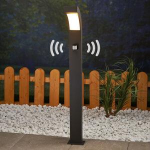 Lucande LED osvětlení cesty Lennik s pohybovým čidlem