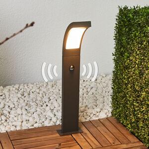 Lucande LED osvětlení cesty Juvia s pohybovým čidlem