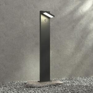 Lucande Patníková LED lampa Silvan, 100 cm, se senzorem