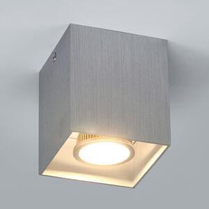 Arcchio Hliníkové přídavné stropní světlo Carson, hranaté