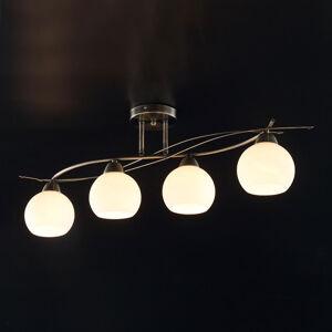 Lindby Čtyřbodová stropní lampa Leanda
