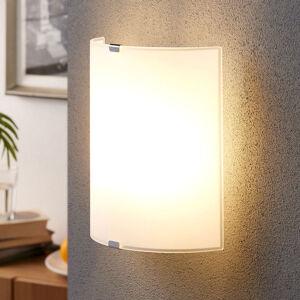 Lindby Jednoduché skleněné nástěnné světlo Phil