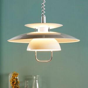 Lindby Závěsné osvětlení Nadija s LED E27, bílé