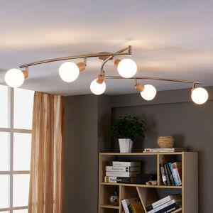 Lindby Stropní LED lampa Svenka, 6bodová