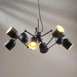 Lindby 8bododvé LED závěsné světlo Morik, easydim