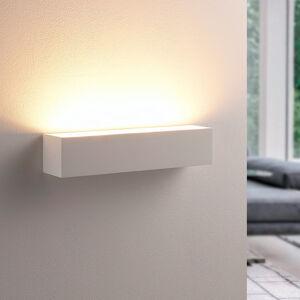 Lindby Santino - nástěnné světlo z bílé sádry