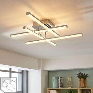 Lindby Nastavitelné LED stropní světlo Korona