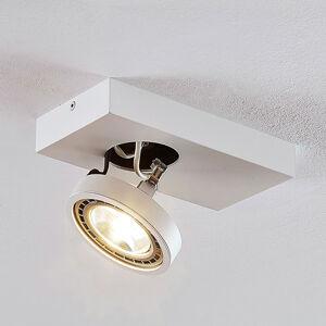 Arcchio Bílé stropní světlo LED Negan, jednobodové