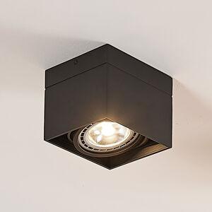 Arcchio Stropní LED reflektor Michonne, černé, 1bodové