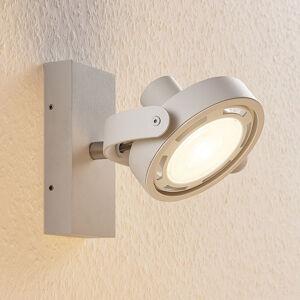 Lampenwelt.com LED reflektor Munin, stmívatelný, bílý, 1bodový