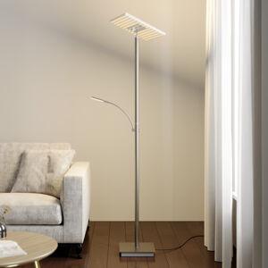 Lucande Lucande LED svítidlo do stropu Joveline, nikl