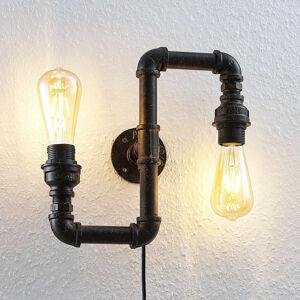 Lindby Nástěnné světlo Josip, industriální design
