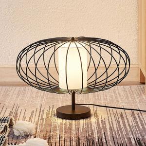Lindby Lindby Korbinian stolní lampa s klec. stínidlem
