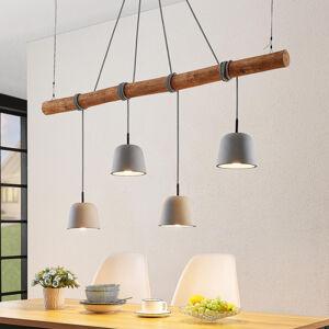 Lucande Lucande Asta závěsné světlo s betonovými stínidly
