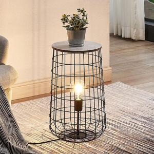 Lindby Lindby Winnie stolní lampa s dřevěnou deskou