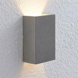 Lindby Lindby Albin LED nástěnné svítidlo beton