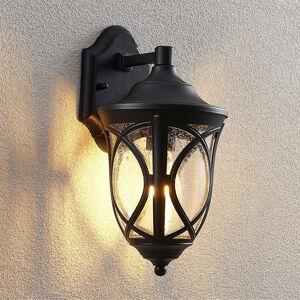 Lindby Lindby Burl nástěnné světlo z hliníku, černá
