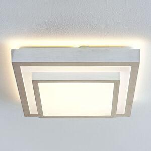 Lindby Lindby Mirco LED stropní světlo, hranaté, 37,5 cm