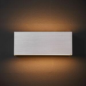 Lindby LED nástěnné světlo Kimberly, 23 x 9 cm, hliník