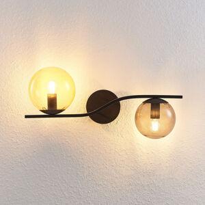 Lindby Lindby Avalyn nástěnné světlo, barevné, černá