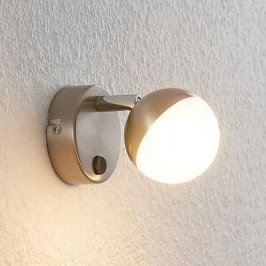 Lindby Lindby Lientje LED nástěnné světlo z oceli