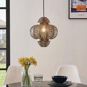 Lindby Lindby Darlia závěsné světlo z kovu, bronz