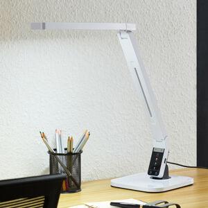 Arcchio Arcchio Liano LED lampa na psací stůl, bílá