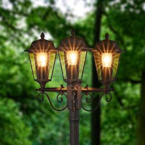 Lindby Pouliční svítilna Lamina, 3zdrojová