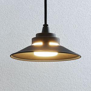 Lindby LED venkovní závěsné světlo Cassia, tmavě šedé