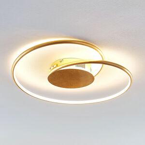 Lindby Lindby Joline LED stropní světlo, zlaté, 45 cm