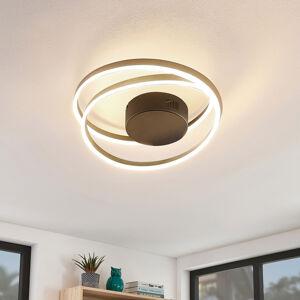 Lindby Lindby Davian LED stropní světlo, mosaz