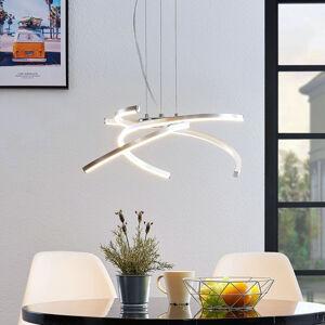 Lindby Lindby Katris LED závěsné světlo, 58 cm, hliník