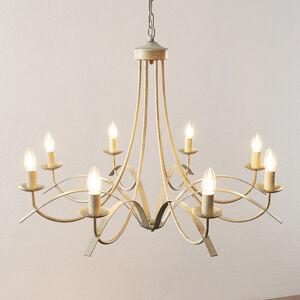 Lindby Lindby Amonja lustr, 8žárovkový, bílý
