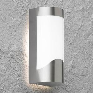 Wofi Venkovní nástěnné světlo z nerezové oceli Foix