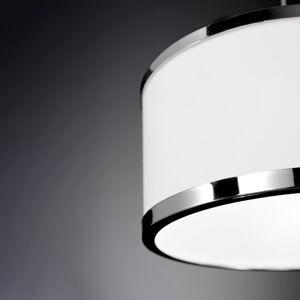 Wofi Chiara, závěsné světlo, jeden zdroj, chrom/bílá