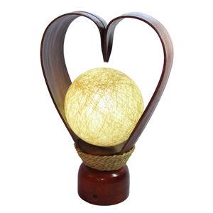 Woru Srdcovitá stolní lampa Karima