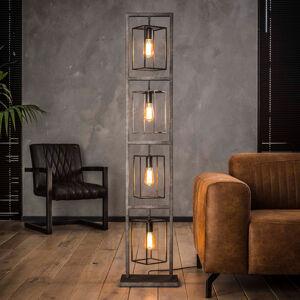 ZIJLSTRA Stojací lampa Perpendillumina, čtyři žárovky