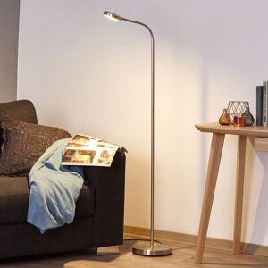 Lindby Praktická LED lampa na čtení s labutím krkem