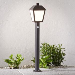 Lampenwelt.com LED svítidlo pro chodníky Bendix se senzorem