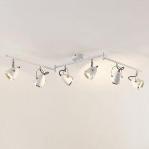 Lindby Lindby Jadon LED stropní světlo bílé 6žár.