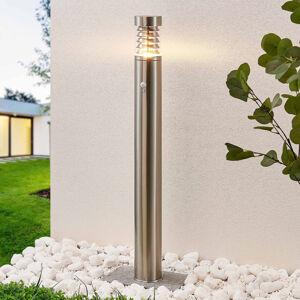 Lindby Lindby Piper senzor venk. světlo z nerezové oceli