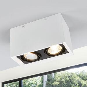 Arcchio Dvouzdrojové LED stropní svítidlo Loreen v bílé