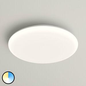 Lampenwelt.com LED stropní svítidlo Azra, bílé, kulaté, IP54