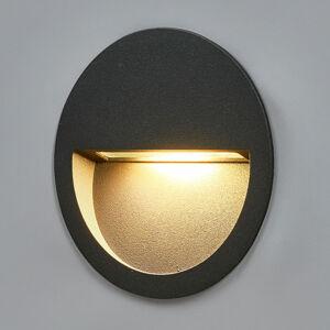 Lucande Kulaté LED nástěnné vestavné světlo Loya