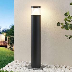 Lucande LED sloupkové svítidlo Darja, šedý hliník, 100cm